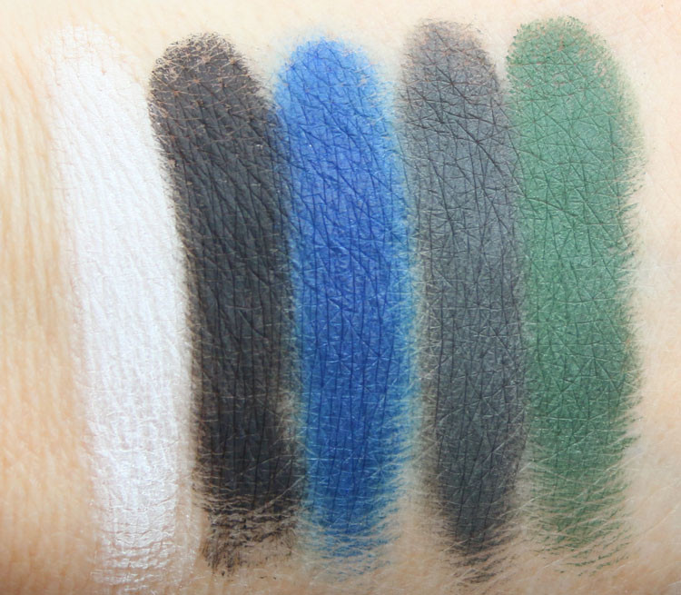 Kat Von D MetalMatte Eyeshadow Palette Swatches