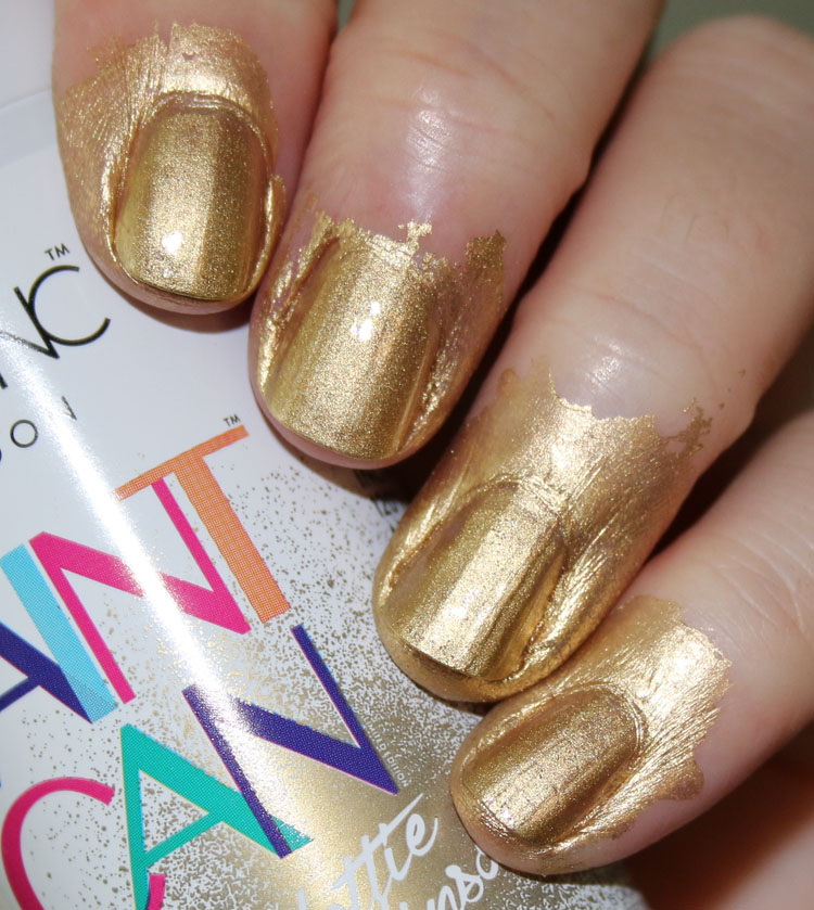 Nails inc Paint Can Good as Gold | Vampy Varnish