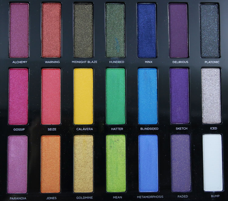 Urban Decay Full Spectrum Eyeshadow Palette Vampy Varnish