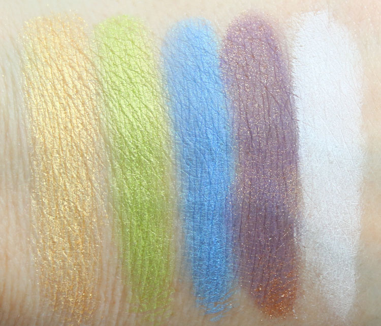 Urban Decay Full Spectrum Eyeshadow Palette Swatches
