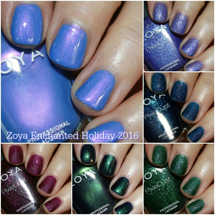zoya enchanted winter/holiday 2016 collection