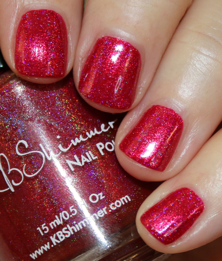 KBShimmer Get To The Poinsettia