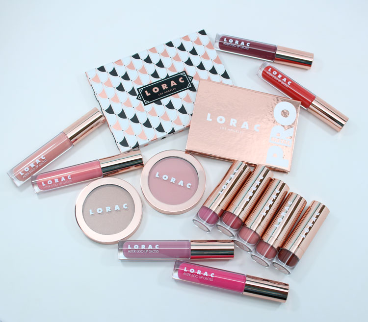 LORAC Rose & Revelry Holiday 2016 Collection