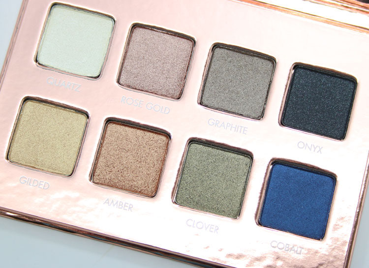 LORAC PRO Metal Eye Shadow Palette Rose Gold