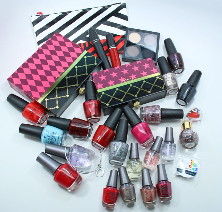 Huge Makeup & Nail Polish Giveaway!