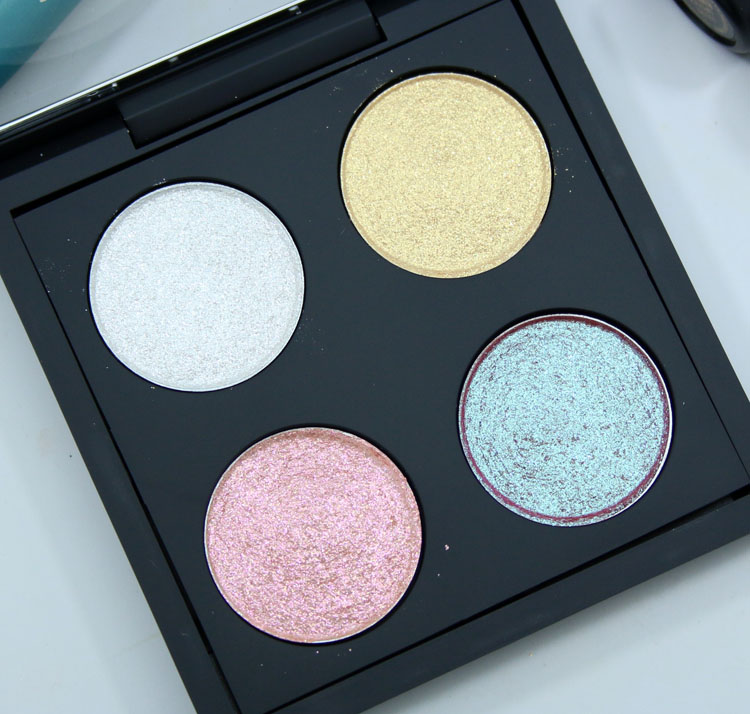 MAC Make-up Art Cosmetics Kabuki Magic The Shining Hour Dazzleshadow X 4