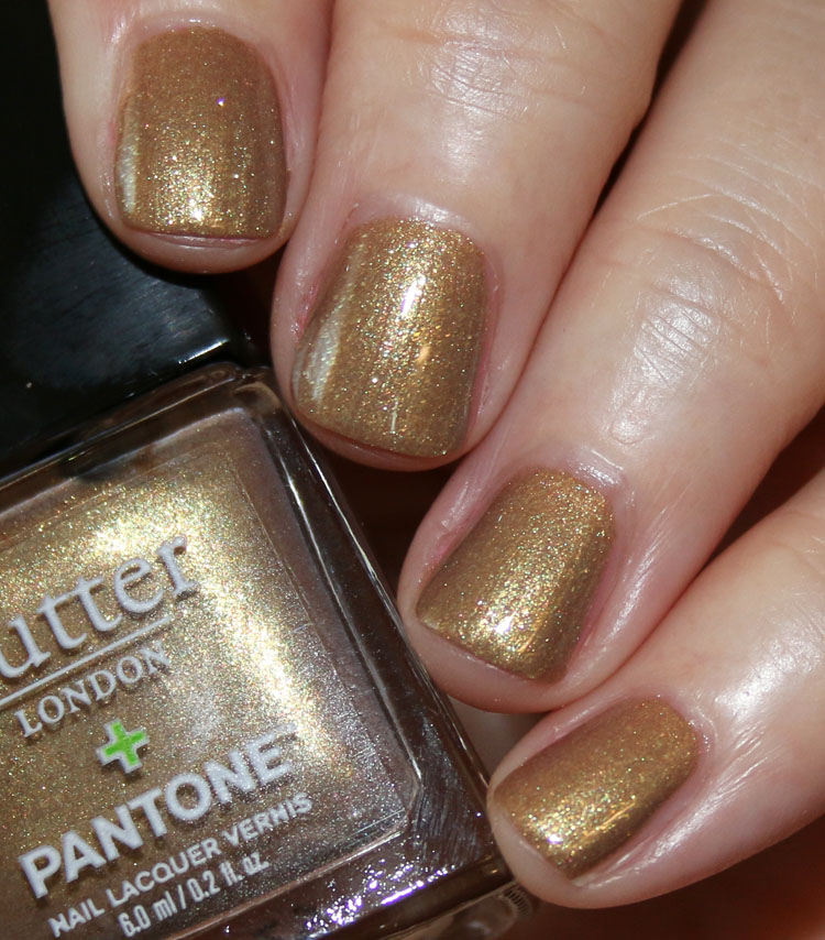 butter LONDON Rich Gold