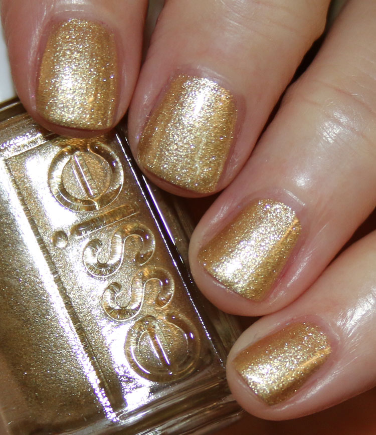 Essie Rose Gold Glitter Nail Polish | Hession Hairdressing