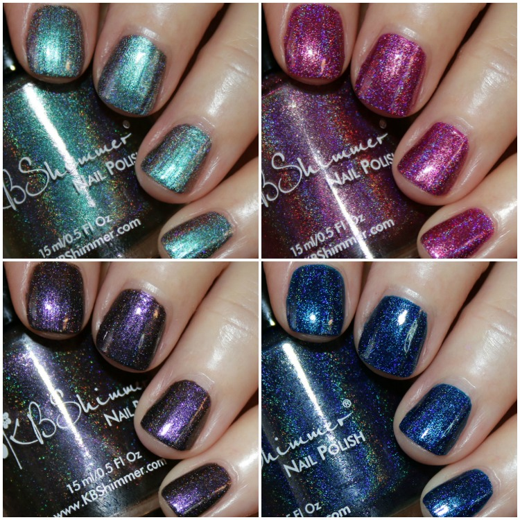 KBShimmer Hella Holo Customs Collection