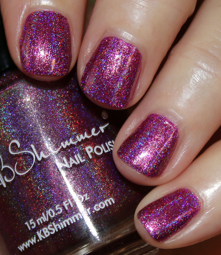 KBShimmer Tall Pink of Water