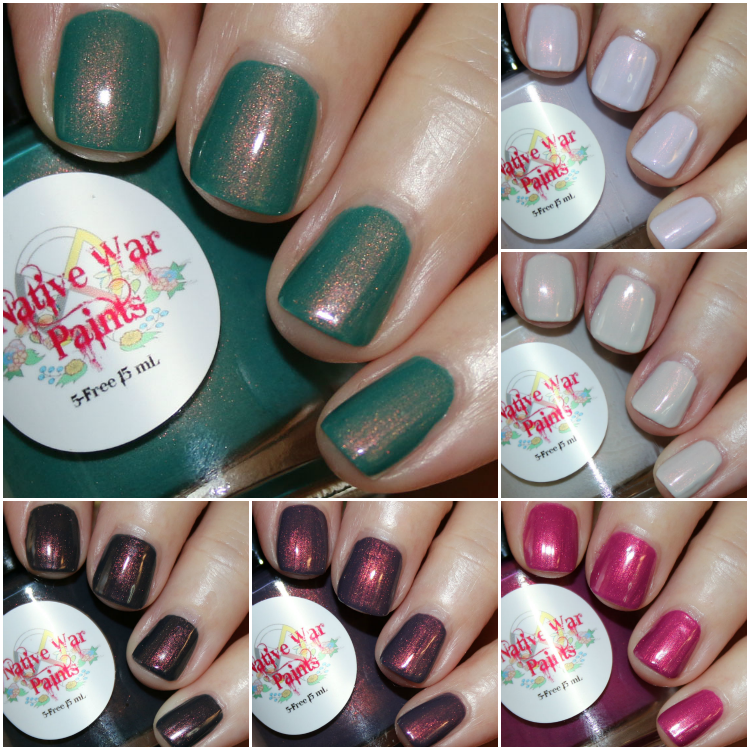 Native War Paints Copper Penny Collection