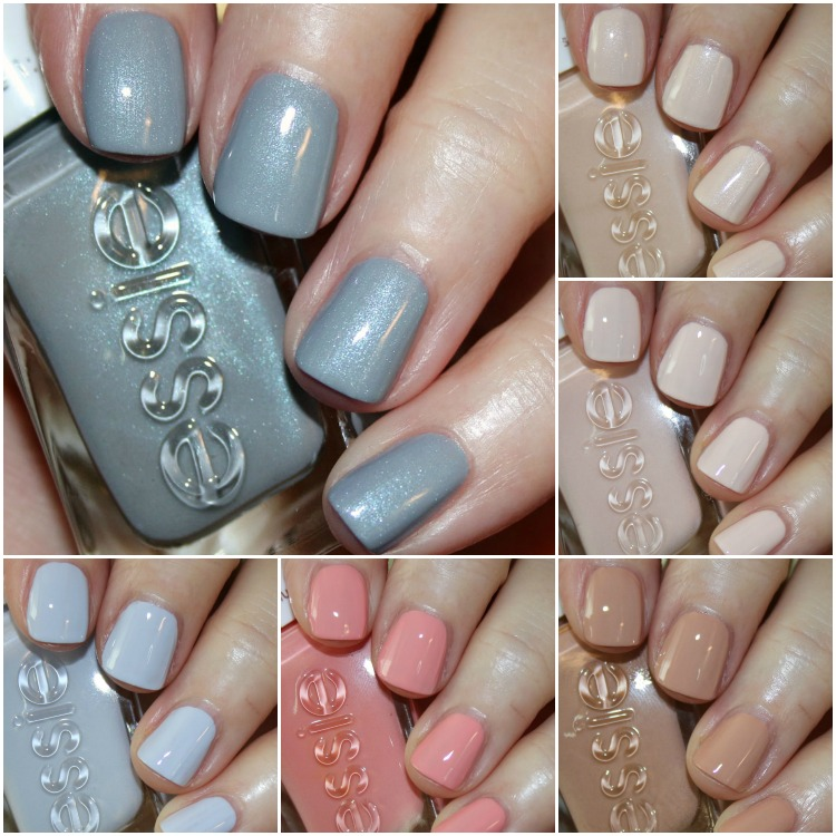 essie Gel Couture Ballet Nudes 2017 | Vampy Varnish