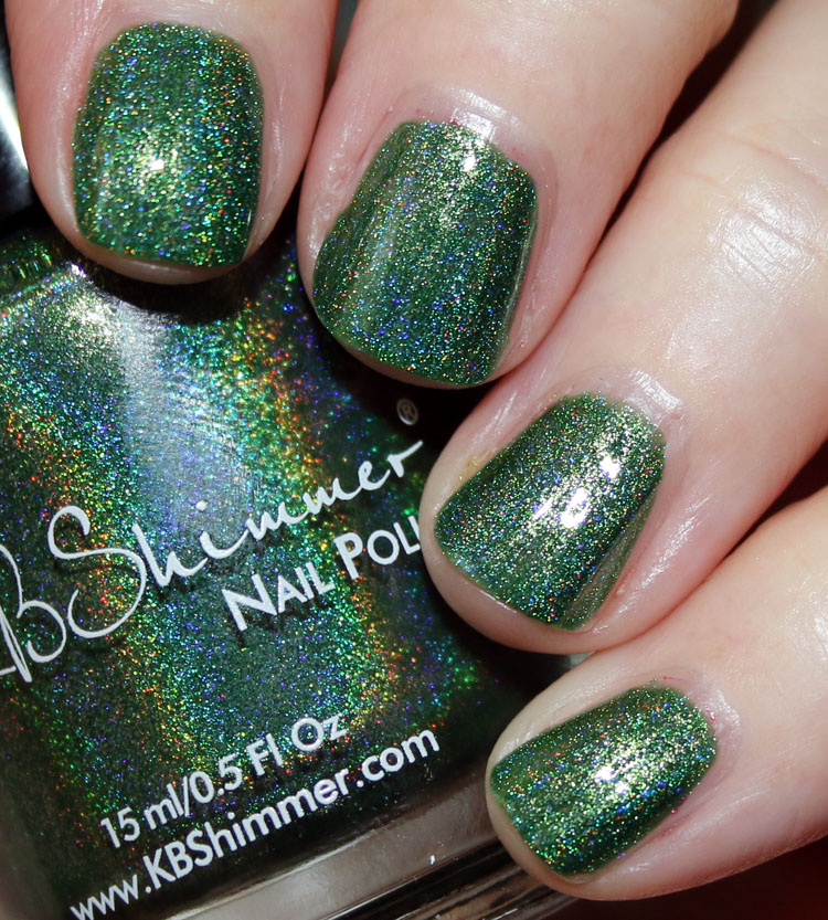 KBShimmer Keep Palm And Carry On