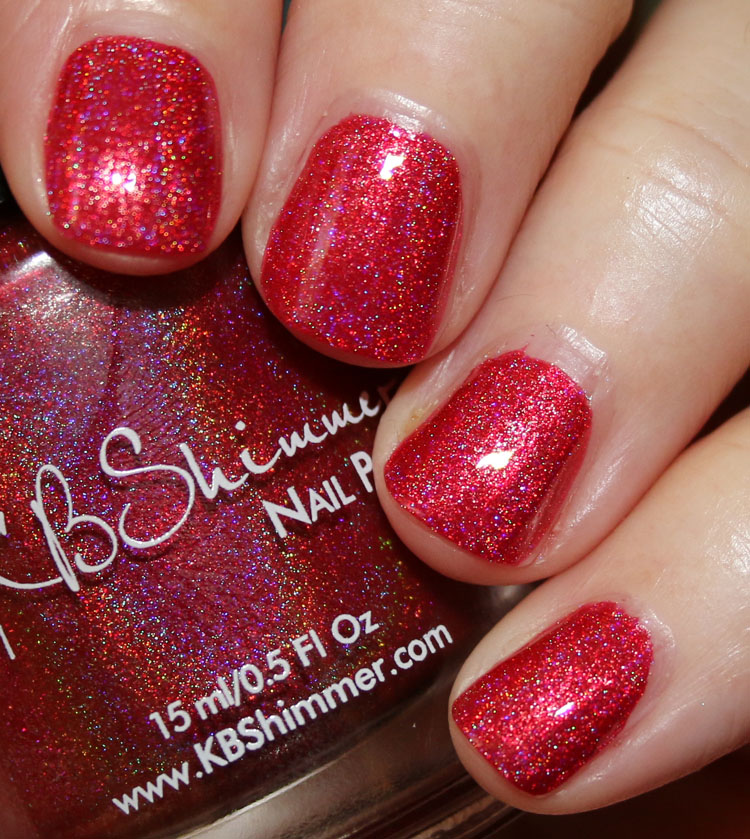 KBShimmer Macaw Me Maybe