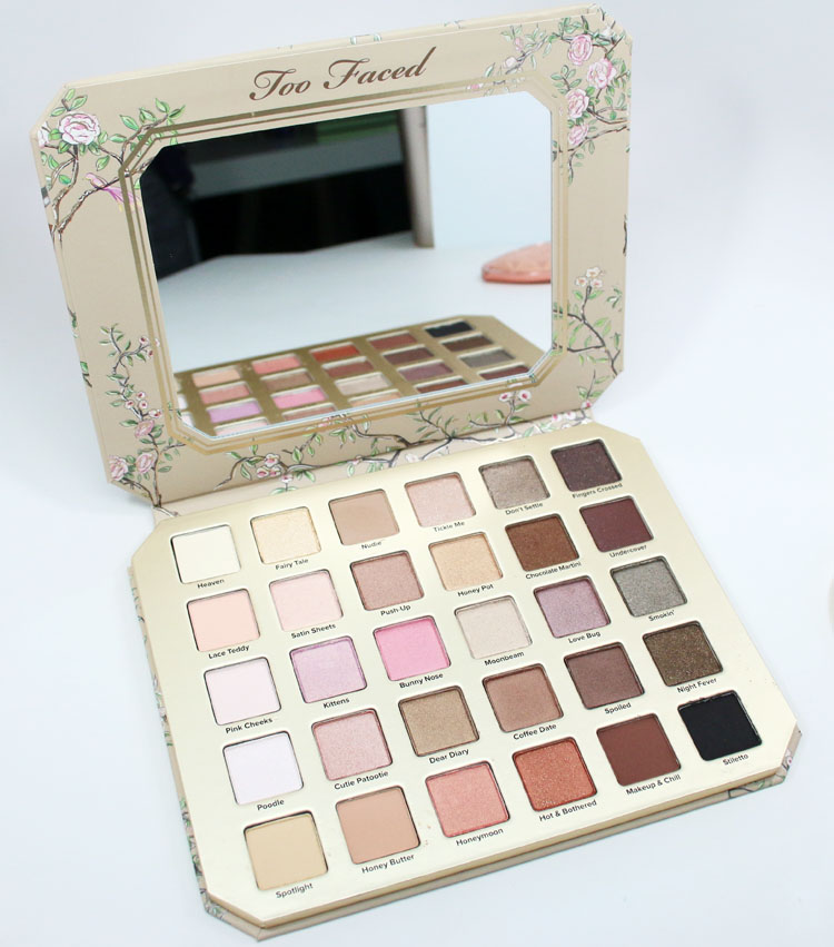 Too Faced Natural Love Eye Shadow Collection