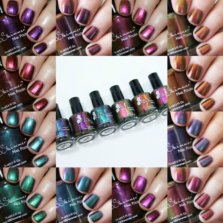 KBShimmer Multi Chrome Collection