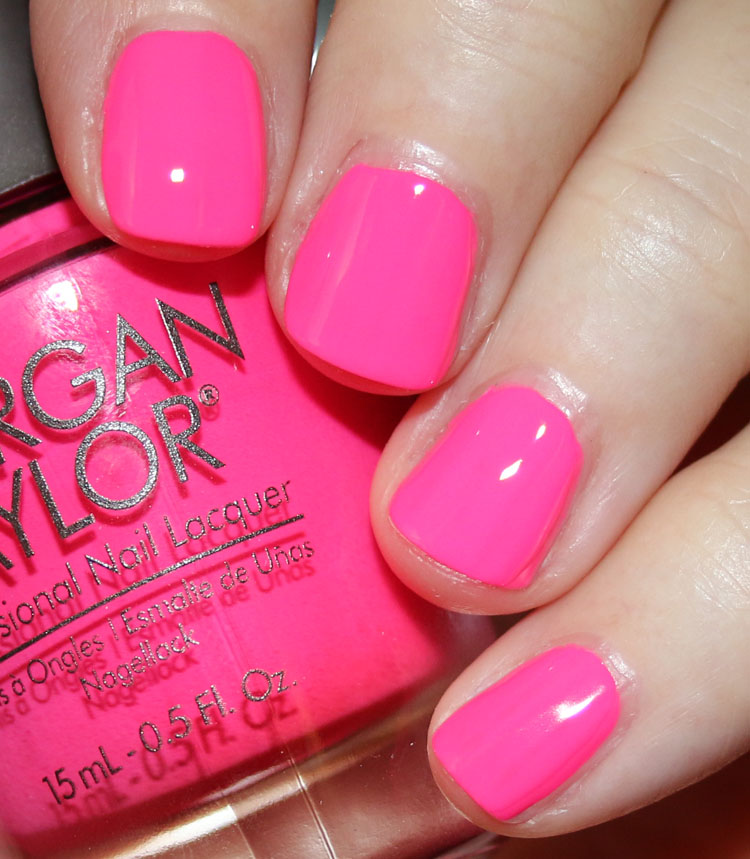 Morgan Taylor Pretty As A Pink-ture