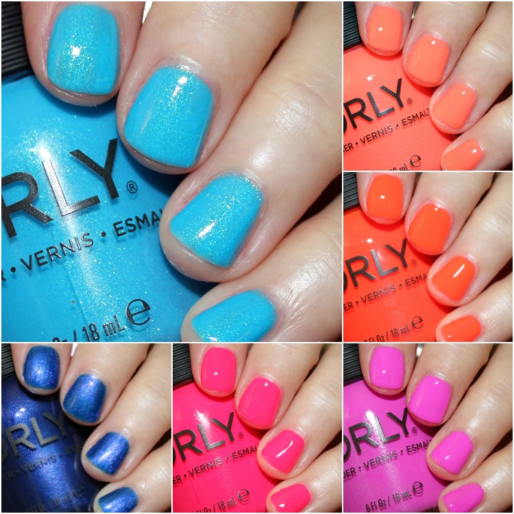 ORLY Coastal Crush Summer 2017