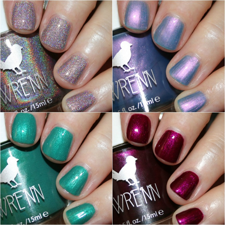 Wrenn Polish Swatches and Review