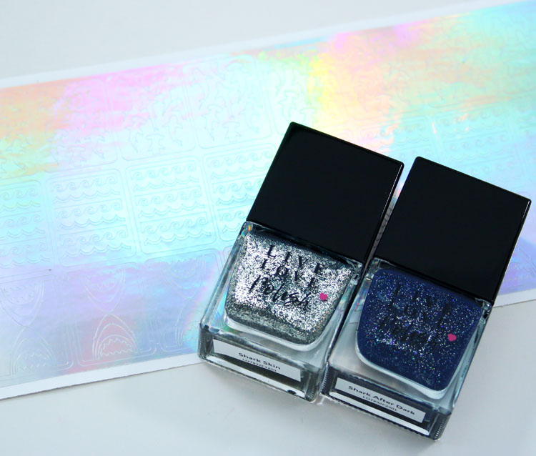 Discovery Shark Week Live Love Polish Collection