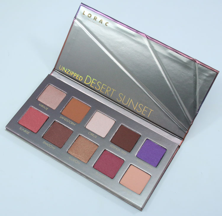 LORAC Unzipped Desert Sunset Eye Shadow Palette
