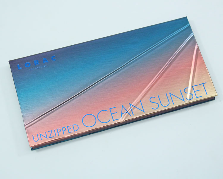 LORAC Unzipped Ocean Sunset Eye Shadow Palette
