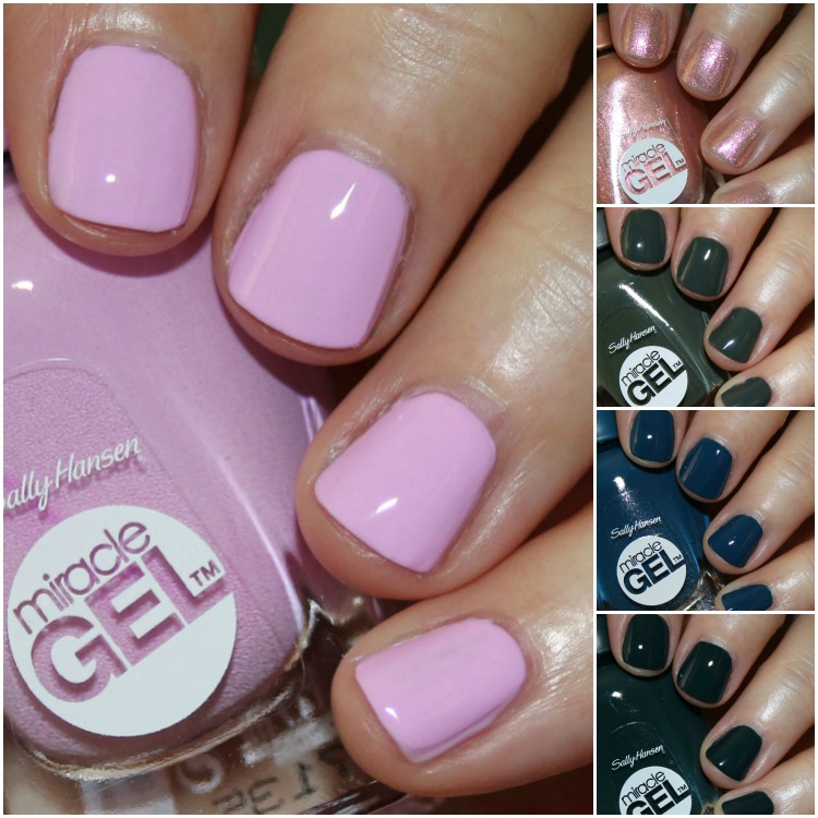 Sally Hansen Miracle Gel Adventure Land & Romantic Rendezvous Collection