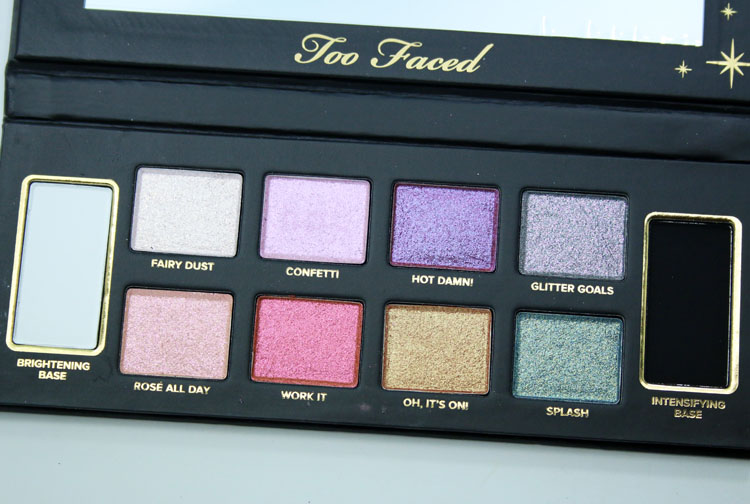 Too Faced Glitter Bomb Palette