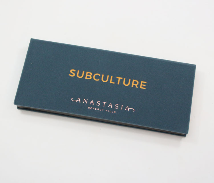 Anastasia Subculture Eye Shadow Palette