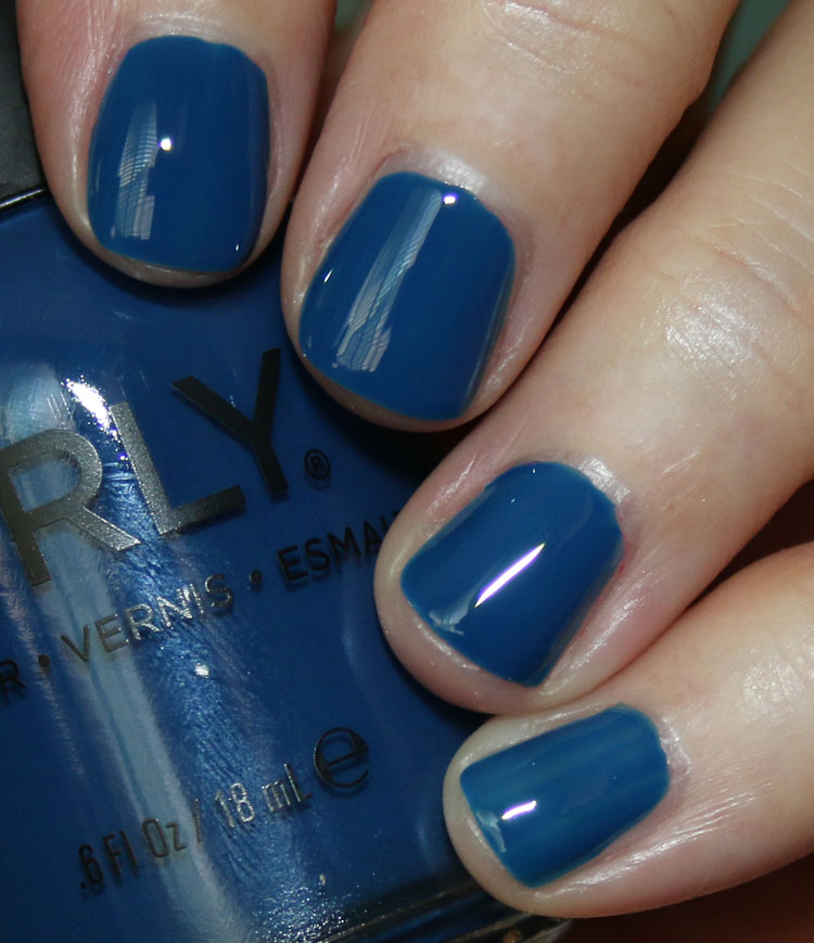 ORLY Blue Suede
