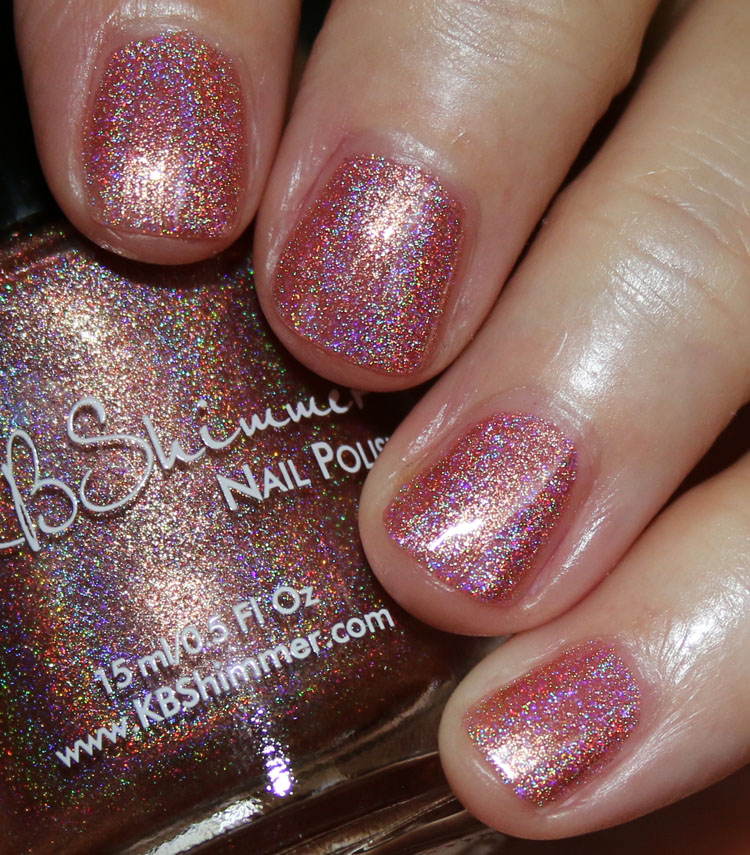 KBShimmer Stop And Smell The Rose