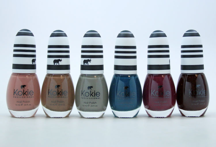 Kokie Cosmetics Fall 2017 Nail Polish Kit