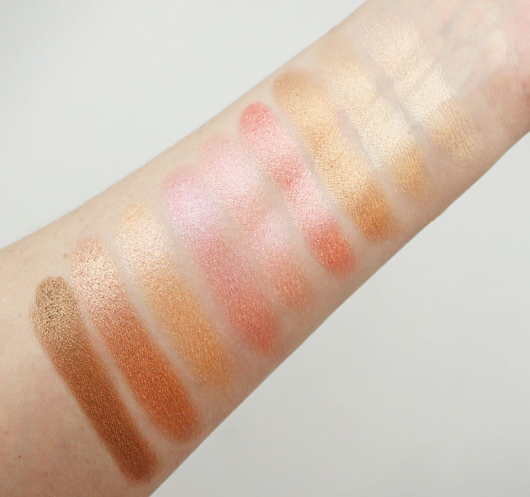 Pixi + Dulce Candy Cafe con Dulce Swatches