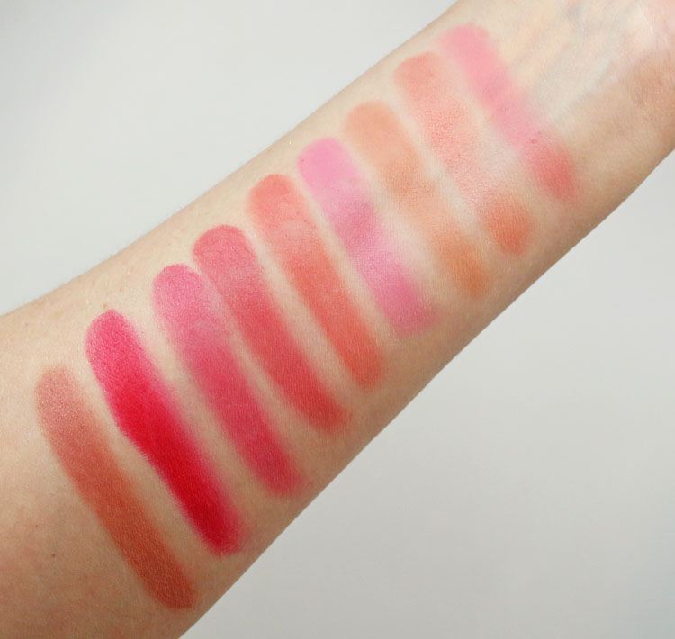 Pixi + Dulce Candy Dulce's Lip Candy Swatches