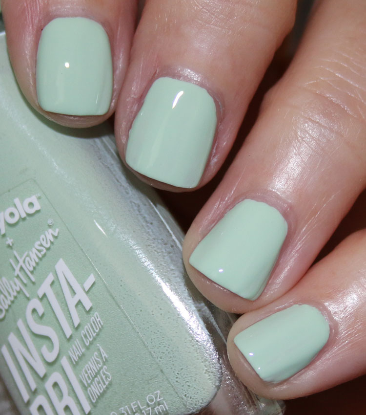 Sally Hansen + Crayola Insta-Dri-Sea Green