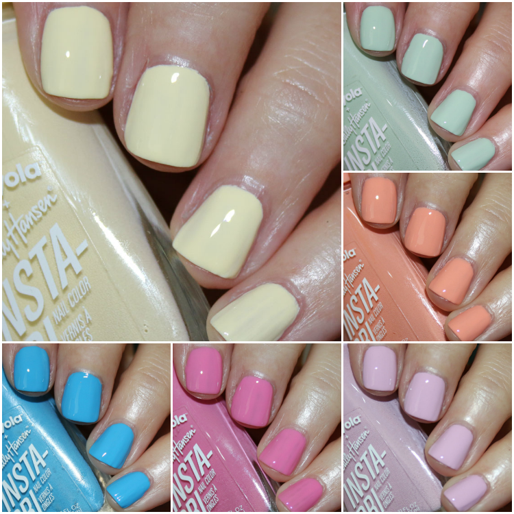 Sally Hansen + Crayola Spring Fling Collection