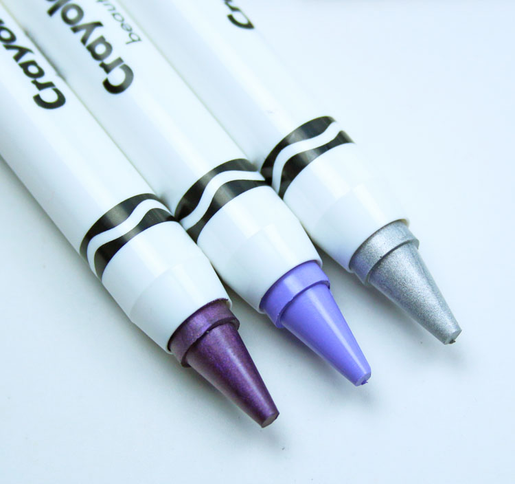 Crayola Color Crayon Trio Purple Galaxy