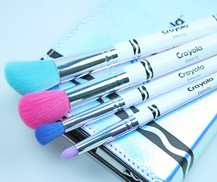 Crayola Makeup and Brush Pencil Case Set