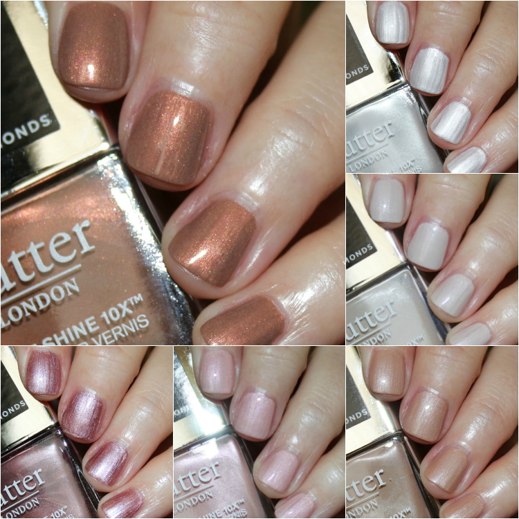 butter LONDON Crushed Diamonds Nail Lacquer Collection