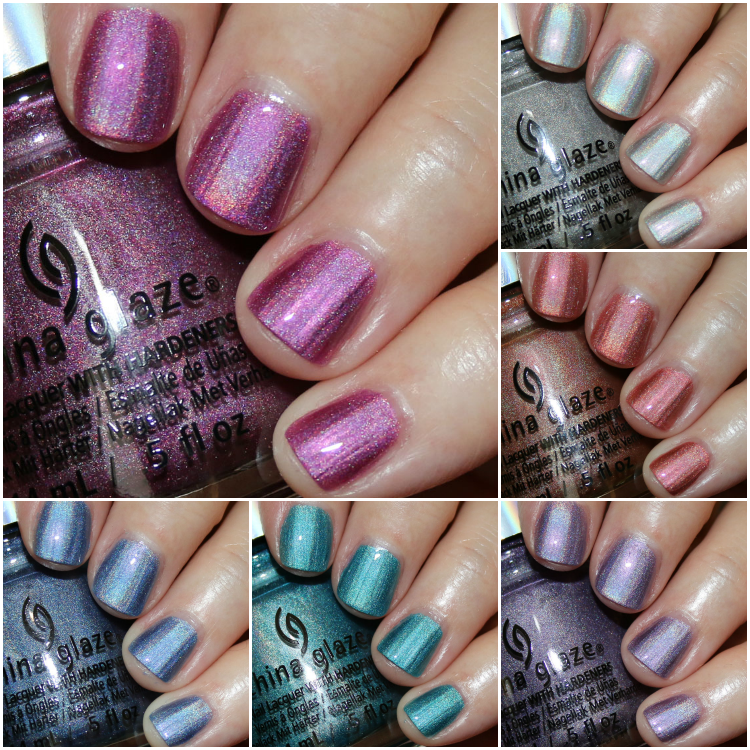 China Glaze OMG! Flashback 10th Anniversary Collection