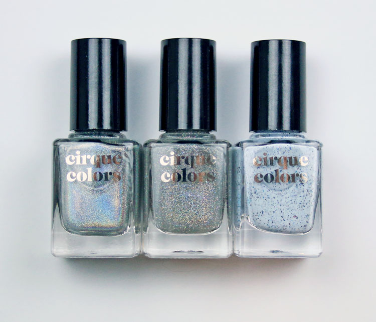 Cirque Colors New Holographic Shades