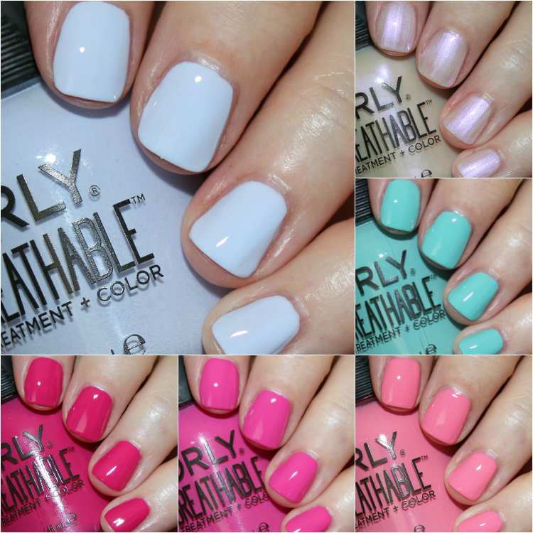 ORLY Breathable Treatment + Color Summer 2018