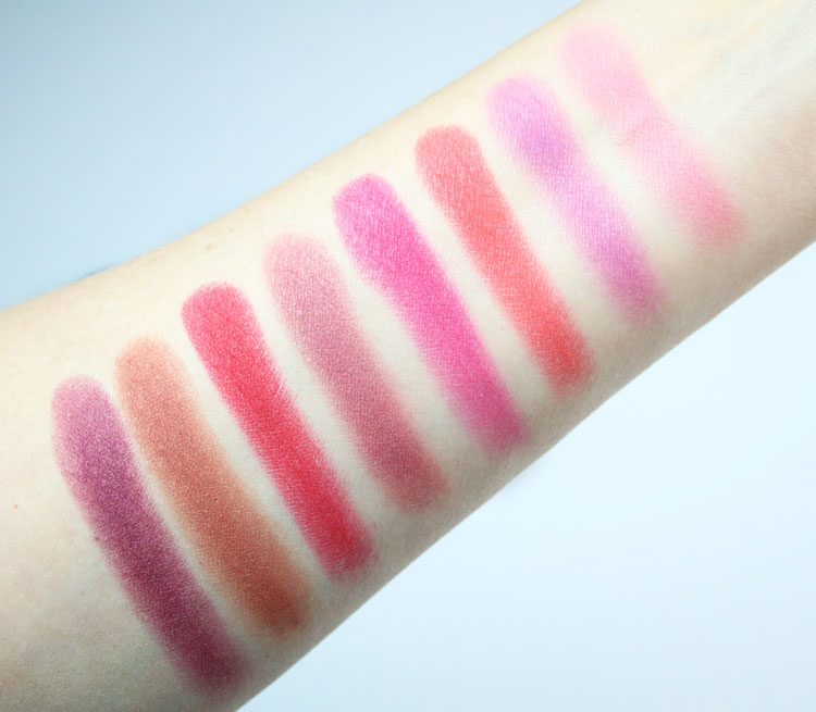 Urban Decay Lo-Fi Lip Mousse Swatches