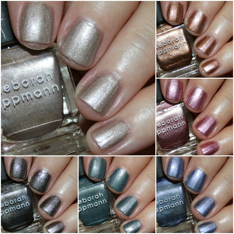 Deborah Lippmann Liquid Metal Collection