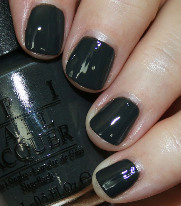 My Favorite Grey OPI Nail Lacquer Colors | Vampy Varnish