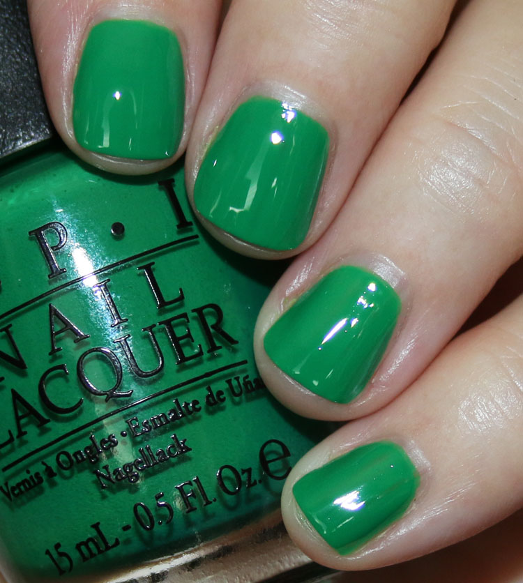 OPI Sandy Hook Green
