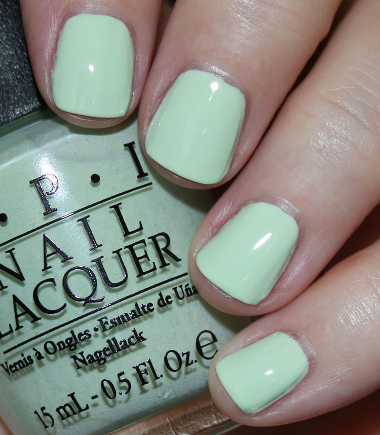 My Favorite Green OPI Nail Lacquer Colors | Vampy Varnish
