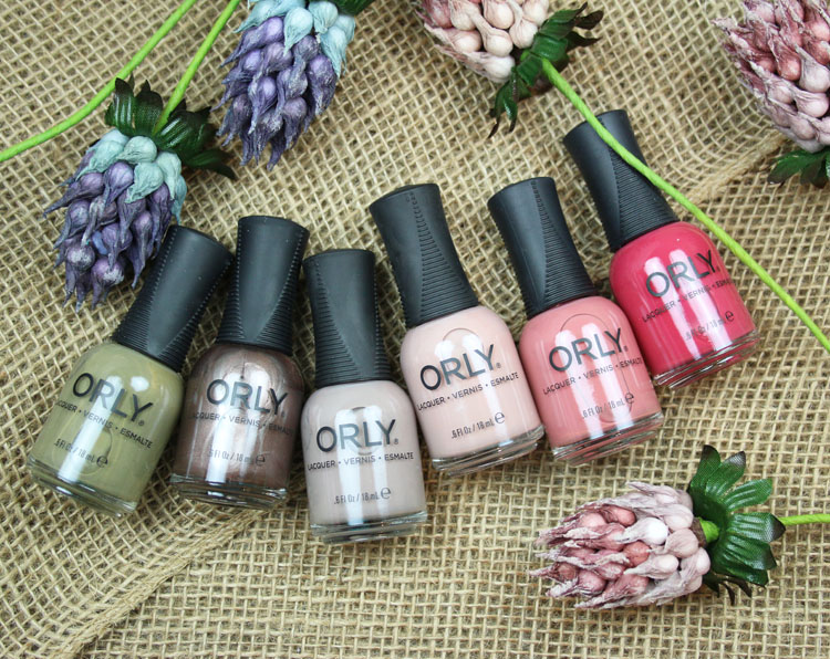 ORLY The New Neutral Fall 2018 Collection