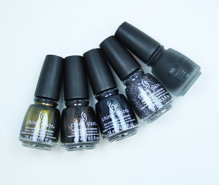 China Glaze Paint It Black Halloween 2018 Collection