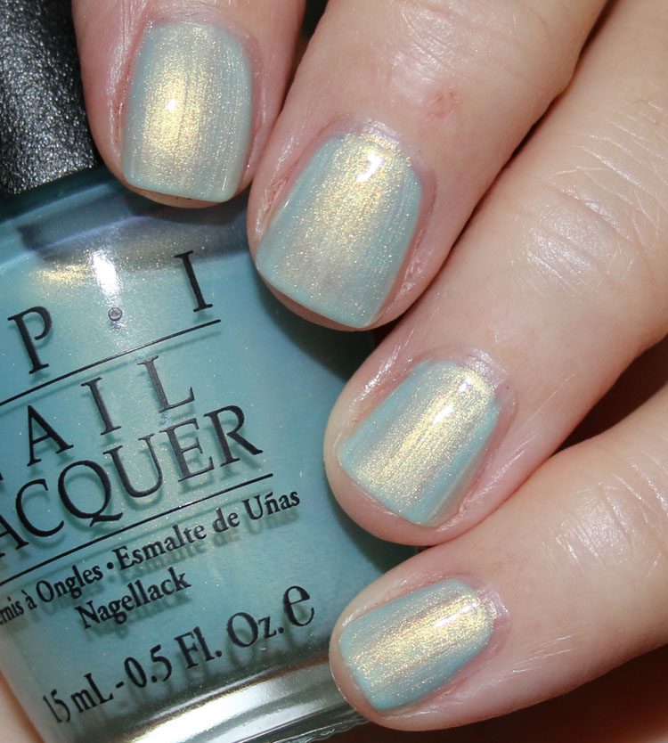 OPI Baby Blue